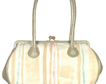 Hand painted Canvas Day bag
