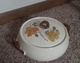 Metlox Poppytrail Woodland Bowl Made in California