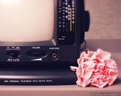 Dreamy vintage radio fine art photography, vintage radio art decor, antique radio art decor