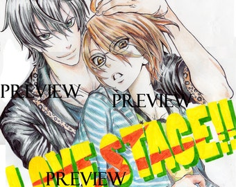 Love Stage Hand Drawn Poster