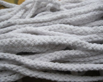 5mm 5Meters White Cotton Cords Cotton Ropes