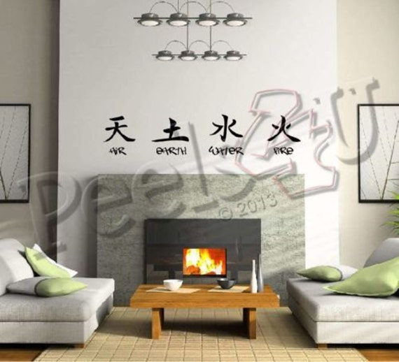 Chinese Character For Fire Chinese Characters 4 Elements