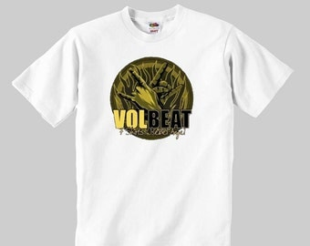 popular items for volbeat tshirt on etsy. Black Bedroom Furniture Sets. Home Design Ideas