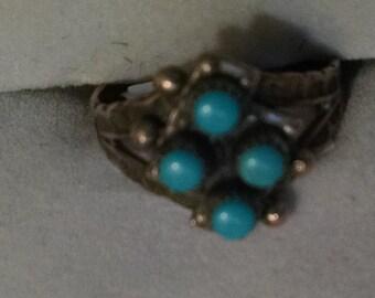Zuni Vintage Turquoise Ring