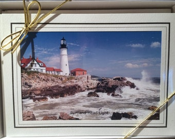 Maine Lighthouse Note Cards Set A