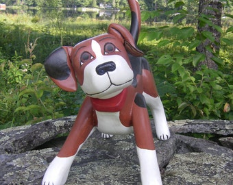 Custom sculpted likeness of your dog.