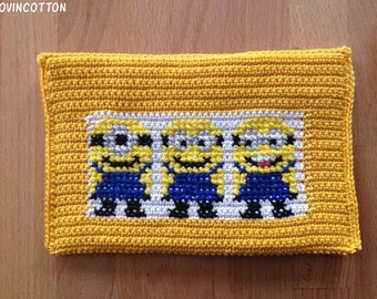 Kobo touch E-reader cover Minions