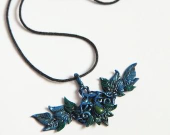 Fantasy elvish fairytale pendant