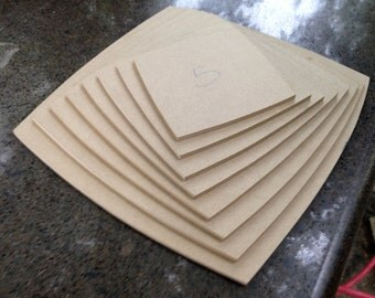 Square with  Rounded Sides drape mold