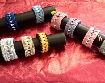 Crocheted Pop Tab Bracelets