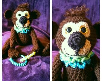Monkey Snuggle Buddy