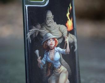 Mummy Iphone SE 5/5S  TPU Case/Cover