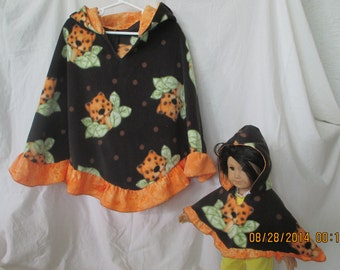 Matching capes for girls and american girl
