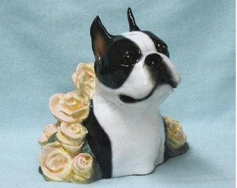 Boston Terrier Sculpture