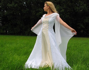 Wedding gown history - medieval wedding dress