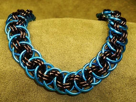 carolina panthers football bracelet necklace by. Black Bedroom Furniture Sets. Home Design Ideas