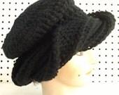 Crochet Pattern, Womens Crochet Hat Pattern, Turban, SAMANTHA Beanie Hat Crochet Pattern