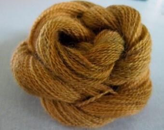 Alpaca Colo Organic Handpainted Yarn (Toffee Peanuts) 100 yds 91.4 meters