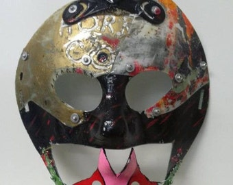 Junk Punk Retrograde Frankenmask III Hockey Mask Dystopia Rising Apocalyptic handmade