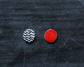 Black Lodge Twin Peaks Earrings