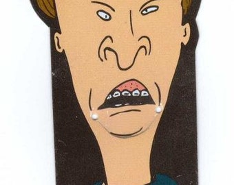 Beavis and Butt-Head Bookmark Vintage 90's school supplies MTV