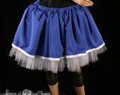 Blueberry Muffin cosplay adult tutu skirt white royal formal prom dance salior moon  -- You Choose Size -- Sisters of the Moon
