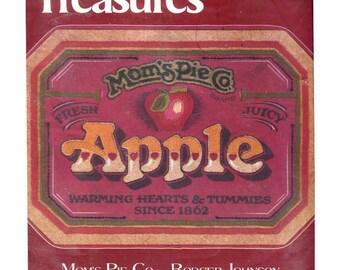 Moms Pie Co - Vintage Crewel Embroidery Kit - Apple Pie Sign Rodger Johnson Needle Treasures 00564