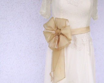 Vintage Style Wedding Gowns---Custom Made in Tea Length
