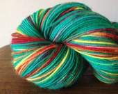 "Colinette Jitterbug Sock Yarn ""Popsicle"", 400 yards, Destash"