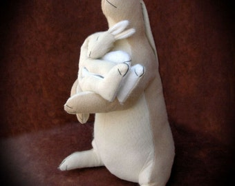 "15"" Papa / Baby Bunny Sewing Pattern"