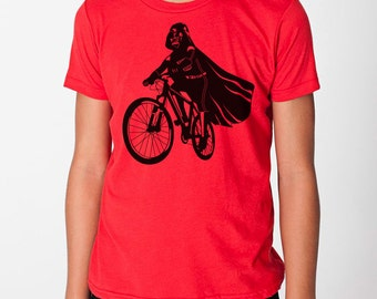 Darth Vader Is Riding It kids graphic tee, toddler, youth, star wars tee, kindergarten shirt, pre school, funny kids tee, gift for children