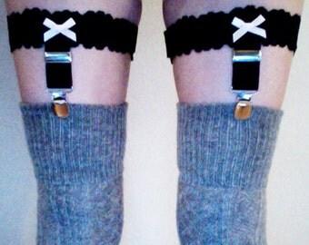 Suspenders thigh garters