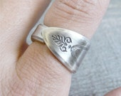 Spoon Ring, Choose your Size, Adam Pattern from 1917, Silverware Jewelry