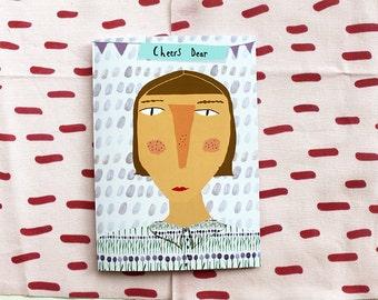 Cheers Dear card cc93  SALE +++++