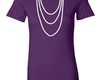 Pearl Necklace T-Shirt