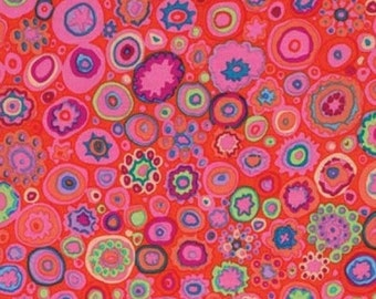 Kaffe Fassett Paperweight Pink Circles Fabric 1 yard LAST IN STOCK