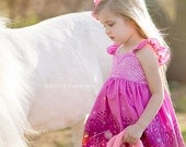 Summer Night Lights Twirl Dress Available in sizes:  12 months - 8 Handcrafted by Valeriya