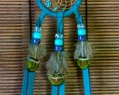 Peacock Teal Dreamcatcher...