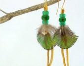 Elegant Emerald Peacock E...