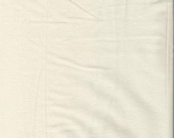 "RALPH LAUREN  Cream/ Off-White Stretch Corduroy Fabric. 55"" wide. 1 Yard."