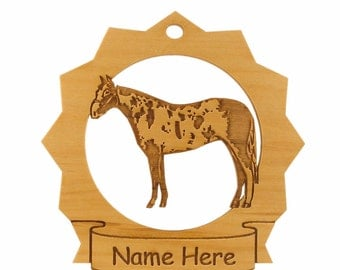 Paint Horse Wood Ornament 088206 Personalized With Your Horse's Name