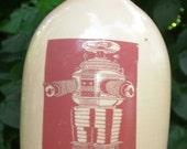Robot jug ceramic handmade