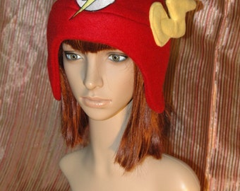 The Flash Hat DC Superhero