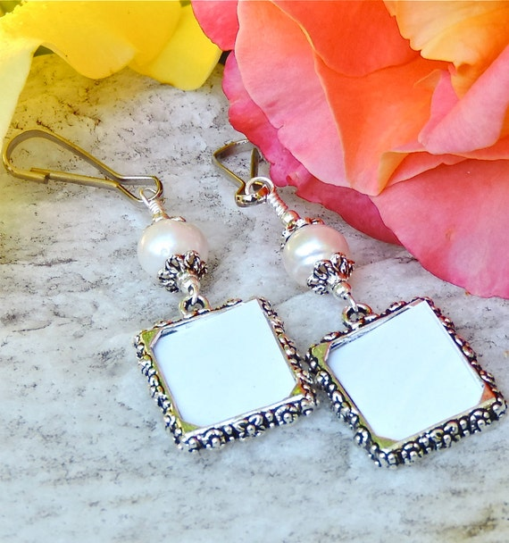 charms freshwater pearl set of 2 bridal bouquet charms wedding