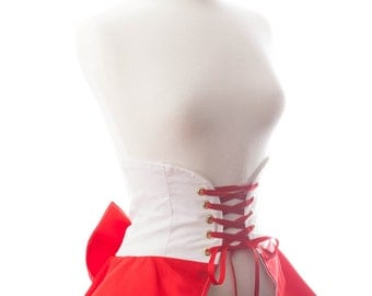 Planetary Magical Girl Mars Inspired Deluxe Cincher Skirt