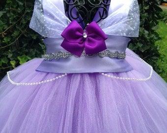 Purple Princess Tutu Dress - Princess Costume - Princess Dress
