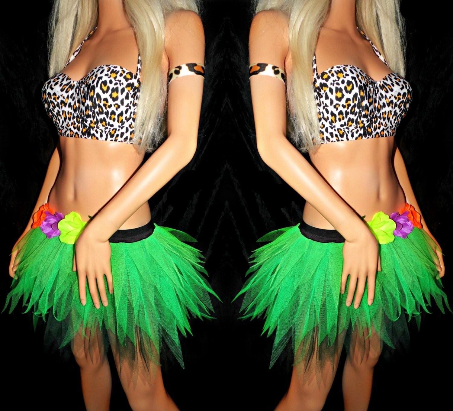 Katy Perry inspired outfit Tutu Set Roar Costume by ...