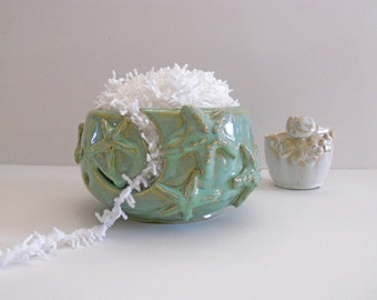 Yarn Bowl for knitting - Starfish Bowl - Tropical Coastal - Bowl IN PRODUCTION