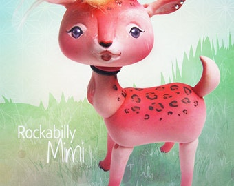 Rockabilly Mimi OOAK BJD