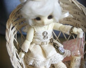 CUTE pukipuki doll dress goggles top hat pocket watch spats OUTFIT clothing 9pcs Steampunk #3